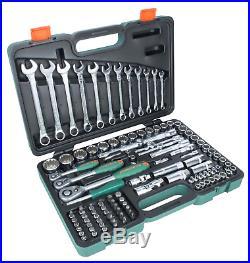 Jonnesway S68H5234111S 111 Pcs Professional Hand Tool Set 1/4 & 3/8 & 1/2 Dr