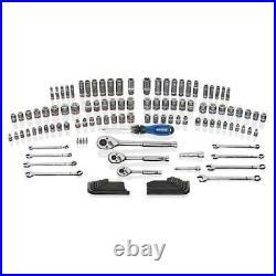 Kobalt 138 Pc Polished Chrome Standard SAE & Metric Mechanics Tool Set