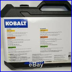 Kobalt 138-Piece Standard (SAE) and Metric Polished Chrome Mechanic's Tool Set