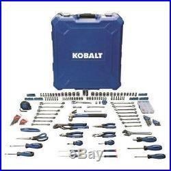Kobalt 200-Piece Standard & Metric Household / Mechanic Tool Set Hard Case Kit