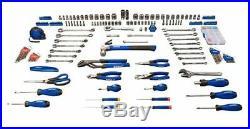 Kobalt 200-Piece Standard (SAE) Metric Mechanics Tool Set Hard Case Mechanic Kit