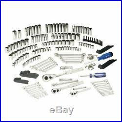 Kobalt 227 Piece Standard SAE Metric Polished Chrome Mechanics Tool Set