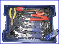 Kobalt 227-Piece Standard (SAE) and Metric Mechanic's Tool Set with Hard Case