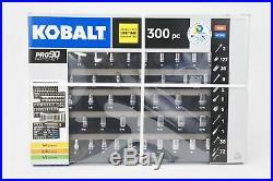 Kobalt 856855 300-Piece Advanced Mechanic's Tool Set, Inch/Metric NEW