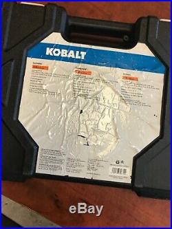 Kobalt Universal 67-Piece Standard (SAE) and Metric Black Oxide Mechanic's Tool