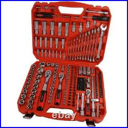 Large Heavy Duty Quality 219 Piece Socket Set Neilsen Mechanics Kit ct3748