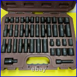MATCO Tools SBP426V 42 PC 3/8 6 Point SAE / METRIC Deep / Standard Impact Set