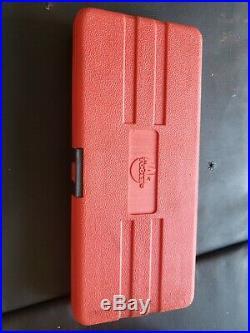 Mac Tools 15pc 3/8 Drive SAE & Metric Speed Hex Bit Set P/N SXAB15B WithRed Case
