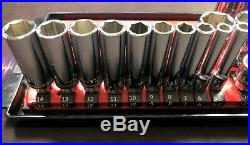 Mac Tools 4-sets 1/4/ 3/8 Drive Shallow & Deep 6-point (46) Sockets USA