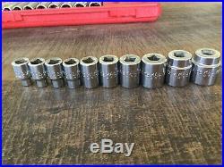 Mac Tools SX446BR 44-Pc General Service 3/8 Drive SAE/Metric Socket Ratchet Set