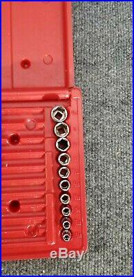 Mac Tools SX446BR 44pc 1/4 Deluxe SAE Metric Deep Standard 6pt Socket Set