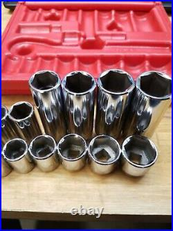 Mac Tools USA 3/8 Dr Socket SAE General Service KIT Set