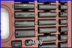 Matco SBP426V 42 Piece SAE & Metric 3/8 Standard & Deep Impact Socket Set