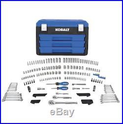 Mechanic Tools Automotive Professional Set (KOBALT 227-PCS) Ratchets Sockets Hex