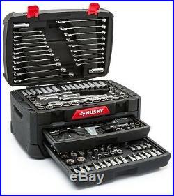 Mechanics Tool Box Set 268 Piece Standard SAE Metric Garage Auto Shop Workshop