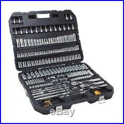 Mechanics Tool Ratchet Socket Hex Keys Set Chrome Hand Tools 192-Piece DEWALT