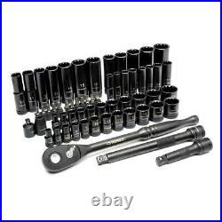 Mechanics Tool Set 60-Piece 100 Position Universal SAE and Metric HUSKY NEW