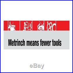 Metrinch Socket Standard Set 1/2 Dr 17pc Metric SAE Worn Nuts Trade Quality
