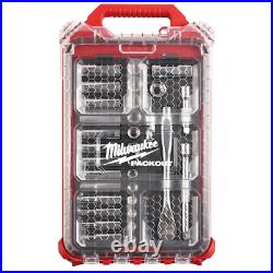 Milwaukee 3/8 in. Drive Metric Ratchet Socket Tool Set with PACKOUT Case 32pcs