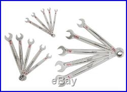 Milwaukee Combination SAE Standard Wrench Mechanics Tool Set 15 Piece Wrenches