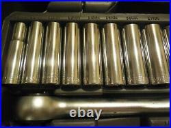 NEW Allen USA 107 Piece Socket & Ratchet Set SAE & Metric USA MADE 19222