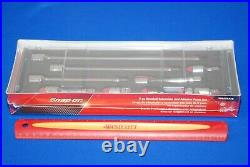 NEW Factory Sealed Snap-on 9 Piece 3/8 Drive Extension and Adaptor Set in FOAM