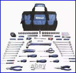 NEW Kobalt 267-Piece Household Tool Set with Soft Case