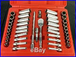 NEW SEALED Snap-On 44 Piece 1/4 Drive 6-Point Metric & SAE General Service Set