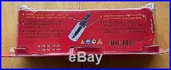 NEW Snap On 10-pc 1/4 & 3/8 Drive TORX Combination Socket Set (T8-T50) 210EFTXRY