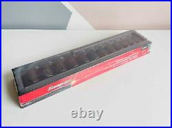 NEW Snap On 12-pc 1/2 6-Point Flank Drive Shallow Impact Socket Set 312IMM