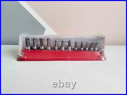 NEW Snap On 12-pc Combination Drive TORX Bit Standard Socket Set 212EFTXY