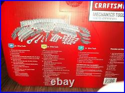NWT- Craftsman 450 Piece Mechanic's Tool Set- Blk 3 Drawer Case WT WARRANTY