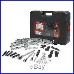 New Craftsman 230 pc Silver Finish Standard and Metric Mechanic's Tool Set NEW