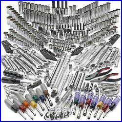 New Craftsman 413 Piece Mechanics Tool Set SAE metric 311 413