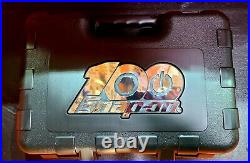 New Snap-on Tools 100th Anniversary 100 pc 1/4 Socket Ratchet Set