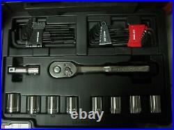 READ Craftsman 232-Piece Standard (SAE) Metric Combination Polished Chrome Set