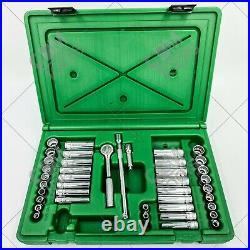 SK Hand Tools 91844-12 41pc 1/4 Dr. 12pt Deep/Standard Metric/SAE Socket Set