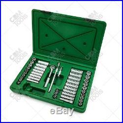 SK Hand Tools 91844 44pc 1/4 Dr. 6pt Deep/Standard Metric/Fractional Socket Set