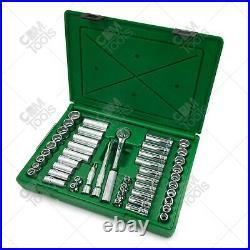 SK Hand Tools 94547 47pc 3/8 Dr. Deep/Standard Metric/Fractional Socket Set