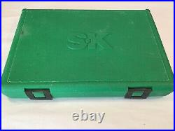 SK TOOLS 945473/8Dr 47Pc+ SAE & Metric Std/Deep Sockets Set in Snap Latch Case