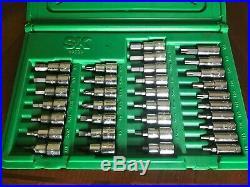 SK Tools 89039 33pc Superset Bit Set Socket Hex Allen Torx Phillips SAE Metric