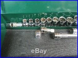 S-K 1/2Dr SAE Socket Set, 22Pc, 7/16-1-1/4, USANICE #SK1.15.20DC