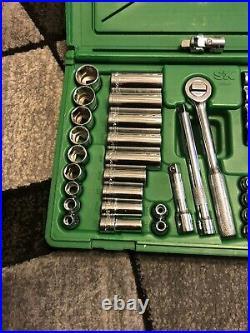 S K Tools 3/8 Drive SAE/Metric Shallow & deep socket set #94547