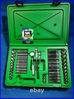 S&K Tools 91844 41pc 1/4 Dr. 6pt Deep & Shallow Metric/SAE Socket Set NEW