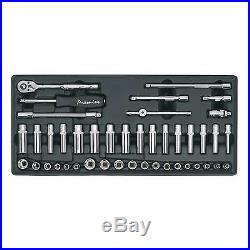 Sealey Mechanics Tool Chest Tray With Socket Set 43pc 1/4 Inch Sq Drive TBT19