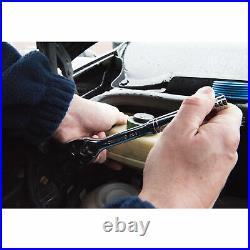 Silverline Mechanics Spanner & Socket Set Metric AF Torx Imperial Tool Kit 90 Pc