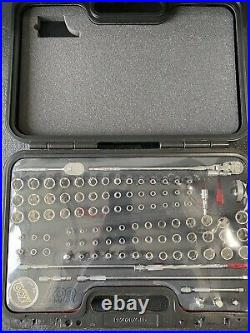 Snap-On 100 piece 1/4 Drive 100th Edition Gold Incentive General Service Set