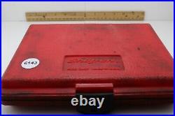 Snap-On 144TMPB 44 Piece 1/4 Drive 6-Point Metric/SAE General Service Set USA