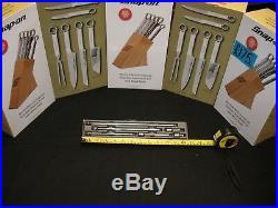Snap On 1/4 Drive Wobble Extension Set 6 Piece Complete With Storage Tray