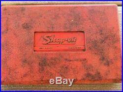 Snap-On 3/8 6-Point Socket Set SAE Standard PB17A General Service 222AFSMP